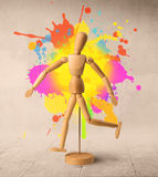 Wooden mannequin Royalty Free Stock Images