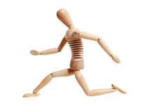 Wooden mannequin Royalty Free Stock Photo