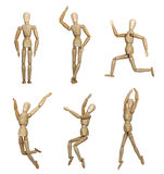 Wooden Mannequins Stock Photos