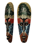 Wooden mask of aboriginal idol Royalty Free Stock Photography