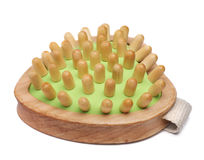 Wooden massager Stock Images