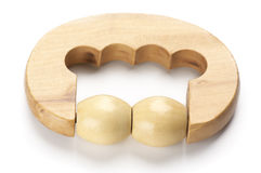 Wooden massager Royalty Free Stock Photos