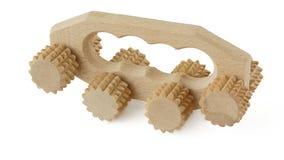 Wooden massager Stock Photo