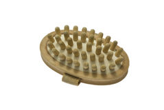 Wooden massager Stock Photos