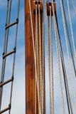 Wooden mast Royalty Free Stock Photos
