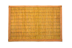 Wooden mat. Stock Image