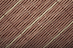 Wooden Mat Texture Royalty Free Stock Photo