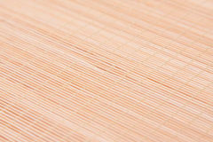 Wooden mat Stock Image