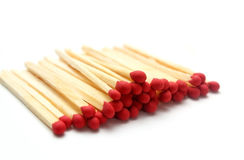 Wooden matches Royalty Free Stock Photo