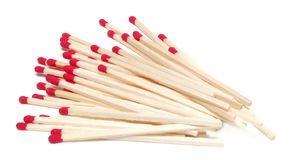 Wooden matches Royalty Free Stock Image