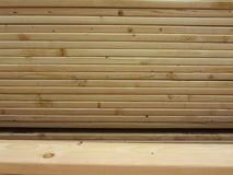Wooden material for home construction Stock Images