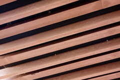 Wooden material Stock Image