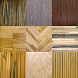 Wooden materials for interiors Royalty Free Stock Photo