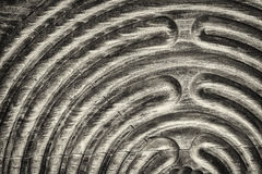 Wooden maze Royalty Free Stock Photos