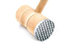 Wooden meat tenderizer Stock Photography