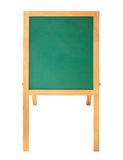 Wooden menu board Stock Image