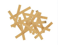 Wooden mess Royalty Free Stock Photos
