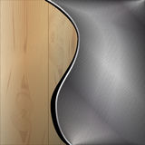 Wooden metal background Royalty Free Stock Image