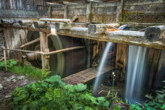 Wooden mill outside Stock Photography