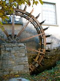 Wooden Mill Wheel Royalty Free Stock Photos