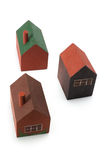 Wooden Miniature Houses Royalty Free Stock Image