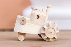 Wooden model of boat Stock Photo