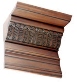 Wooden molding Royalty Free Stock Photo