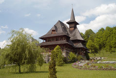 Wooden monastery Royalty Free Stock Photography