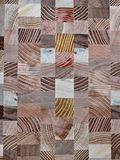 Wooden mosaic Royalty Free Stock Photography