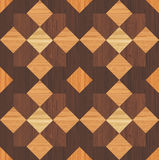 Wooden mosaic Stock Photography