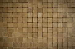 Wooden mosaic Royalty Free Stock Photos