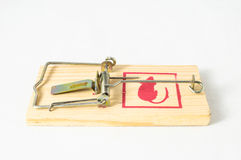Wooden Mouse Trap Royalty Free Stock Photos