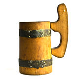 Wooden mug, Russia Royalty Free Stock Image