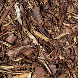 Wooden mulch Royalty Free Stock Photography