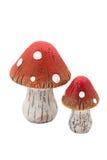 Wooden mushrooms Royalty Free Stock Photo