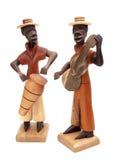 Wooden musician stock photo