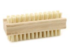 Wooden nail brush Royalty Free Stock Photo
