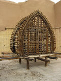 Wooden nakhl, commemorative iranian structure Stock Photography