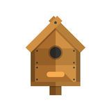 Wooden Nesting Box Icon Royalty Free Stock Photography