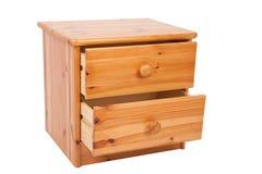 Wooden nightstand Stock Photos