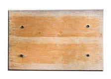 Wooden notice board Royalty Free Stock Photos