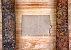 Wooden Notice Board Stock Images