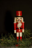 Wooden Nutcracker Royalty Free Stock Image