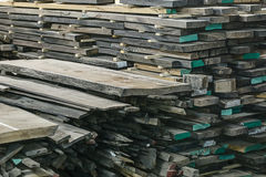 Wooden oak boards Royalty Free Stock Photo