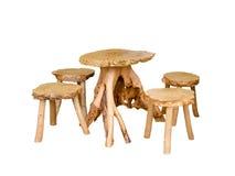 Wooden oak furniture Stock Photography