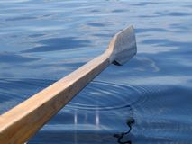 Wooden oar Stock Image