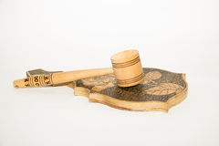 Wooden objects Royalty Free Stock Photography