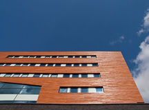 Wooden Office Facade Royalty Free Stock Images