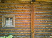 68-Wooden okno fotografia stock