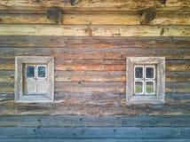 82-Wooden okno obraz stock